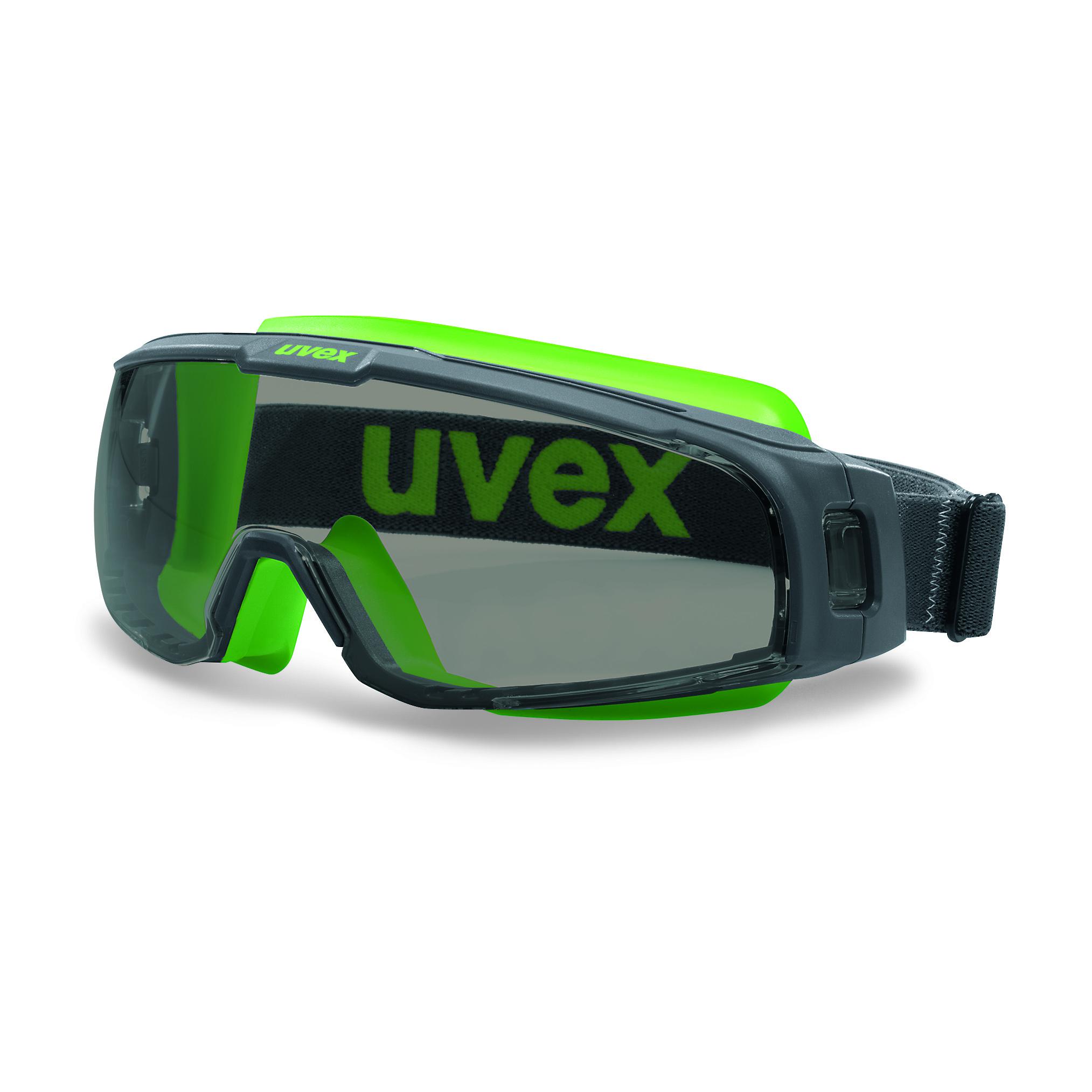 uvex goggle grey
